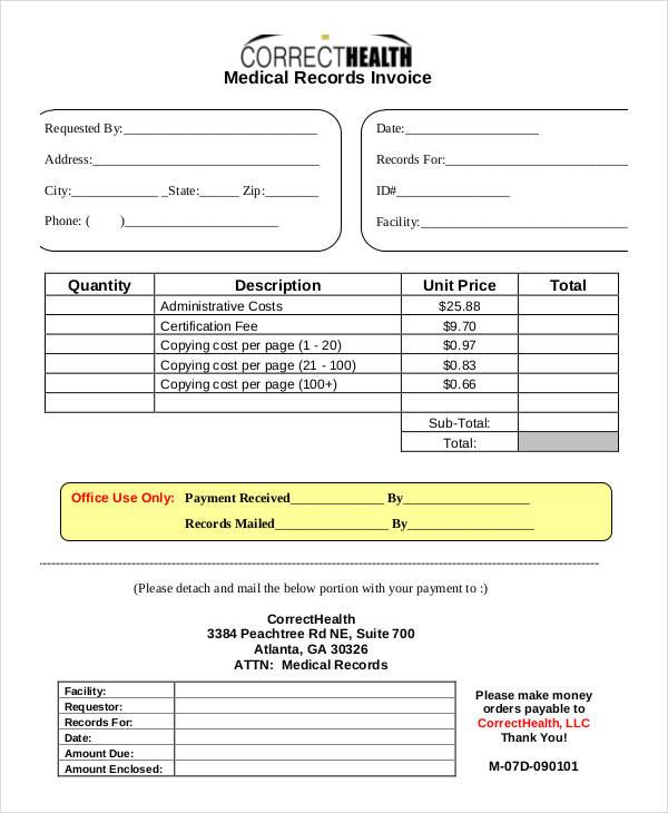 Free Invoice Examples