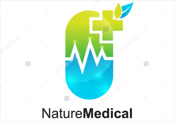-Medical Store Logo Design