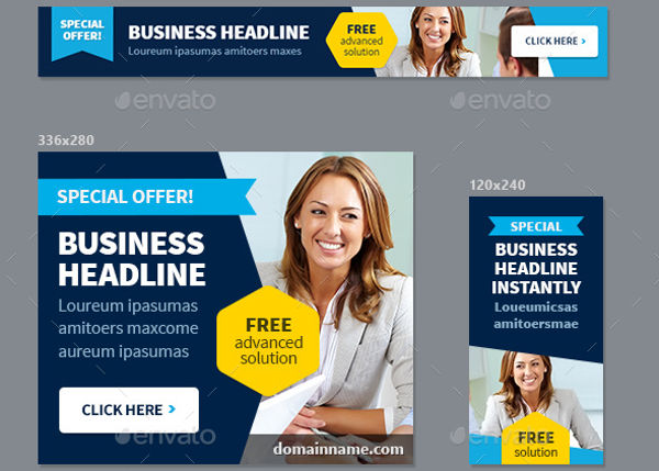 multipurpose business advertisement design
