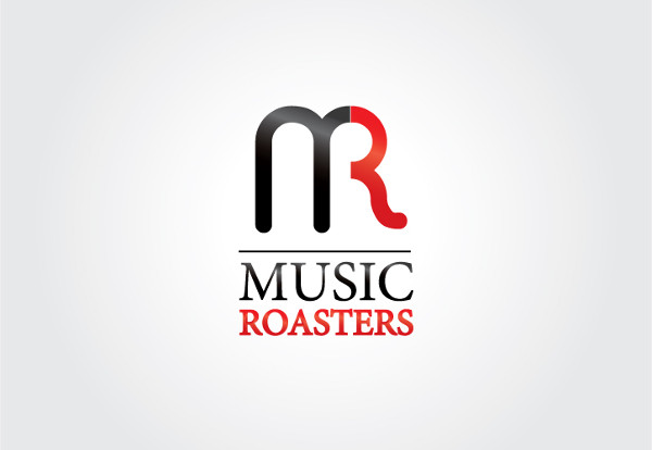 music company logo design