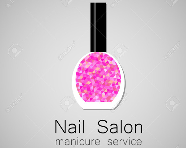 -Nail Salon Logo