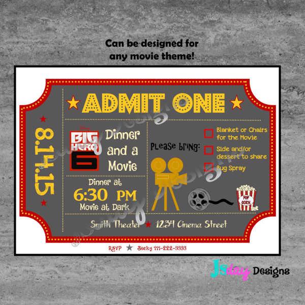 Night Event Ticket
