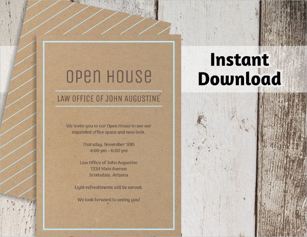 -Open House Business Event Invitation