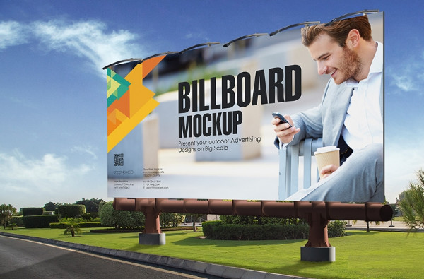 outdoor billboard advertisement design