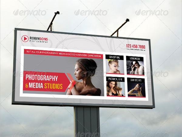 outdoor photography advertising banner