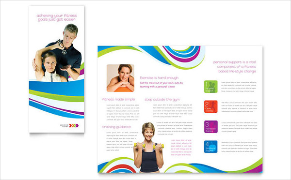 personal fitness trainer brochure