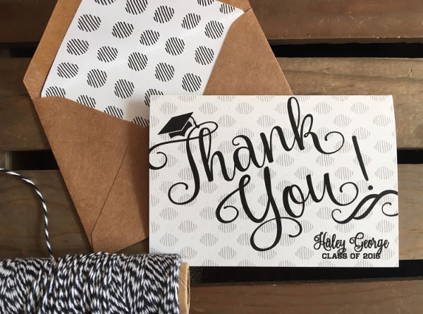 Thank You Card Designs Examples