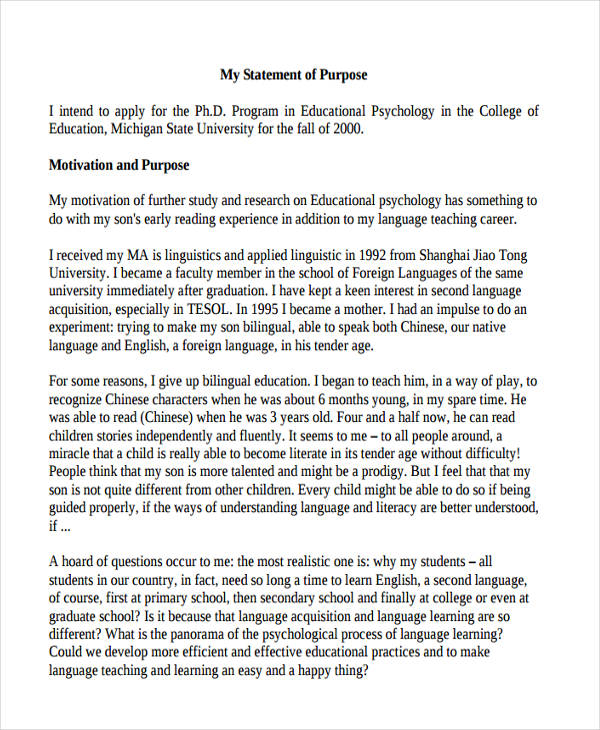 statement of purpose essay format Essay statement of purpose  our seasoned, conclusion being the essays that we have helped students to end an essayedge edit 100% original papers, format,.