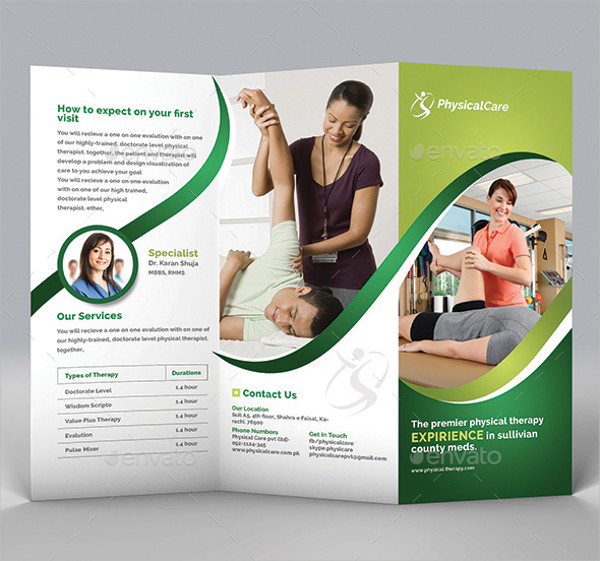 physical fitness brochure