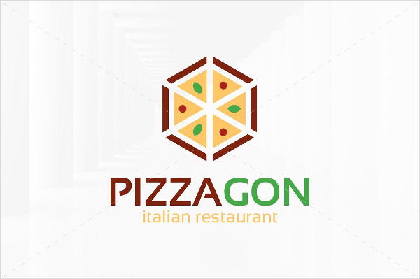 -Pizza Restaurant Logo