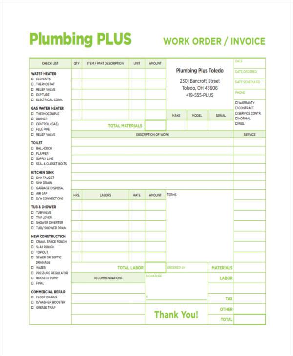 plumbing sample