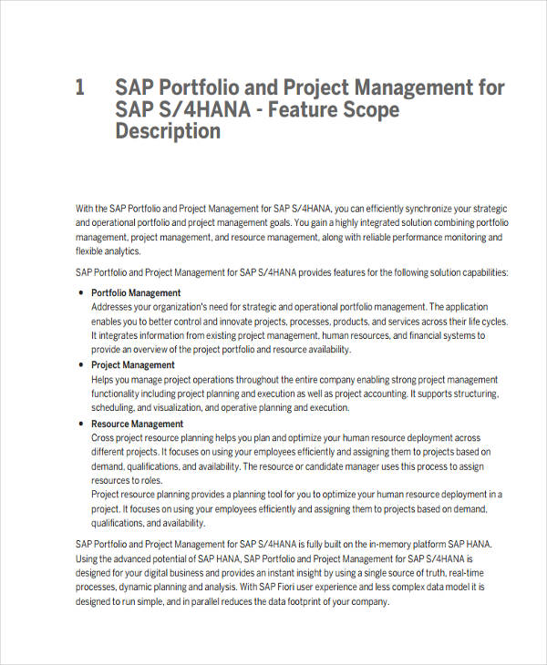 Project Portfolio Example: 21+ Examples Of Project Management Documents