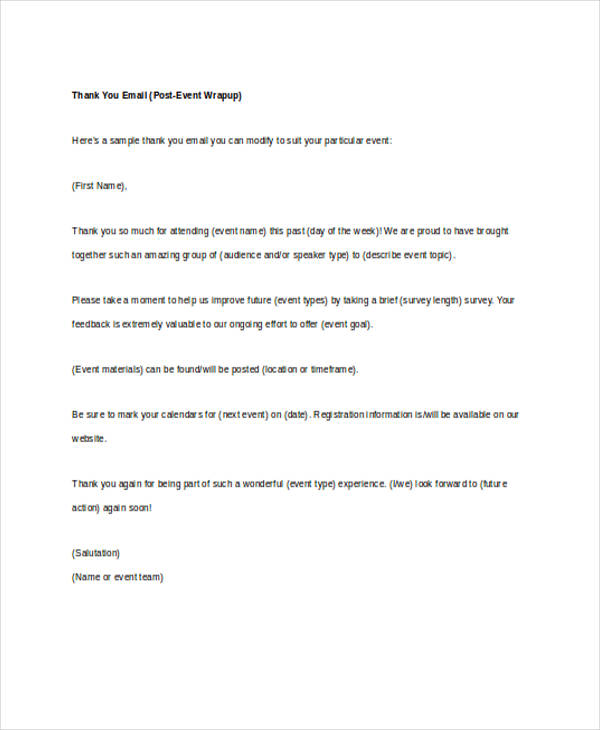 Thank You Letter For Team Interview