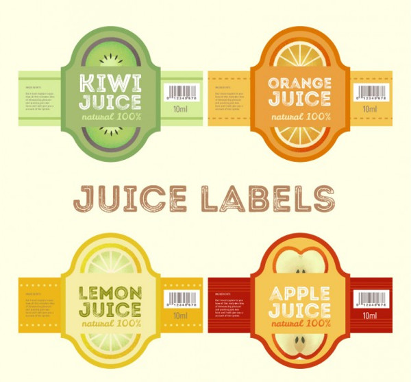 product label design vector