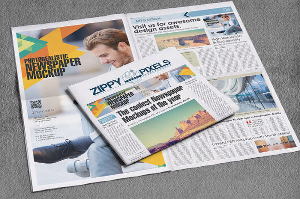 professional newspaper advertising design
