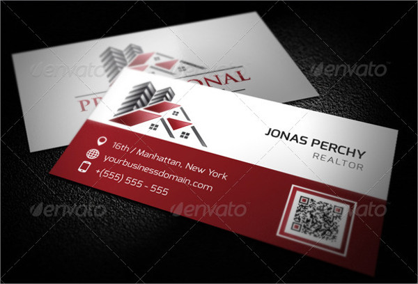 professional real estate business card - Real Estate Business Card