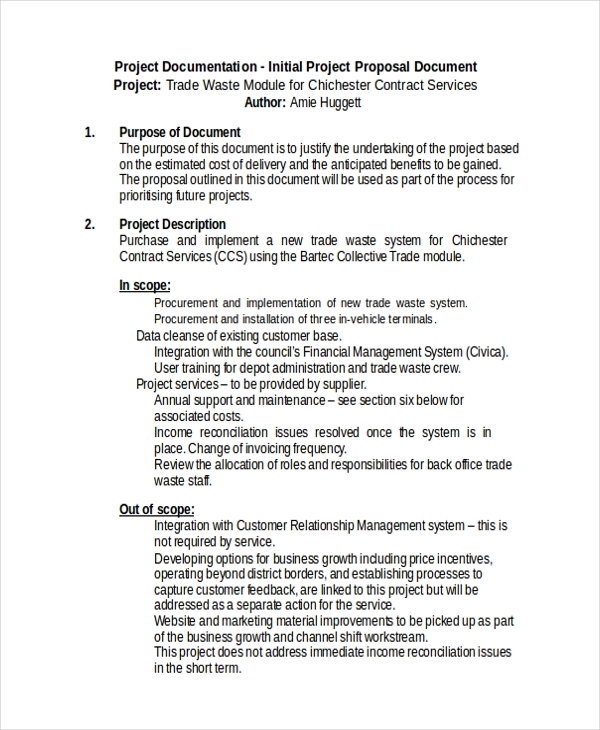 project proposal document1