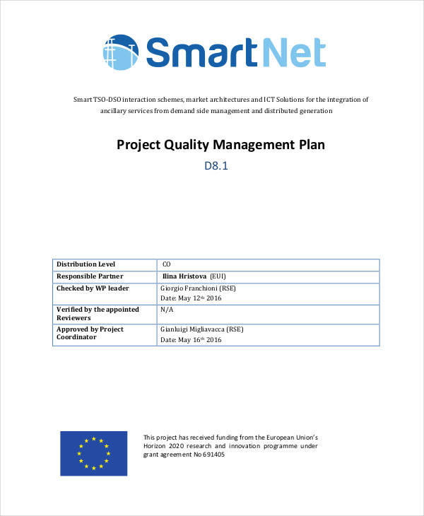project quality management plan1