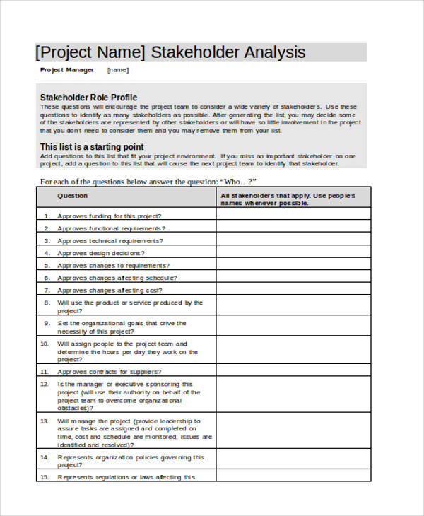 project stakeholder1