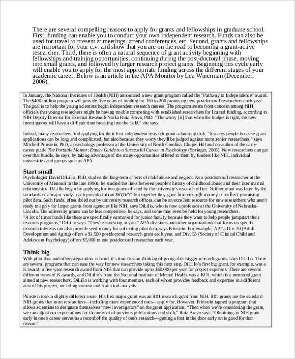 Research Proposal Example | 14 Research Proposal Examples Samples Pdf Doc Pages Examples
