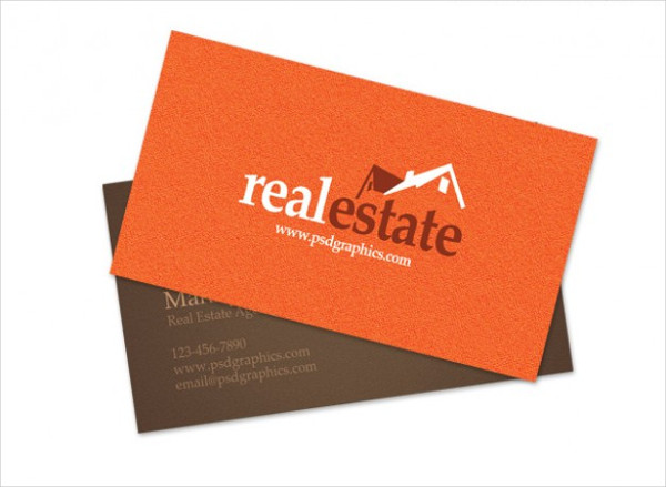 Real Estate Business Name Card