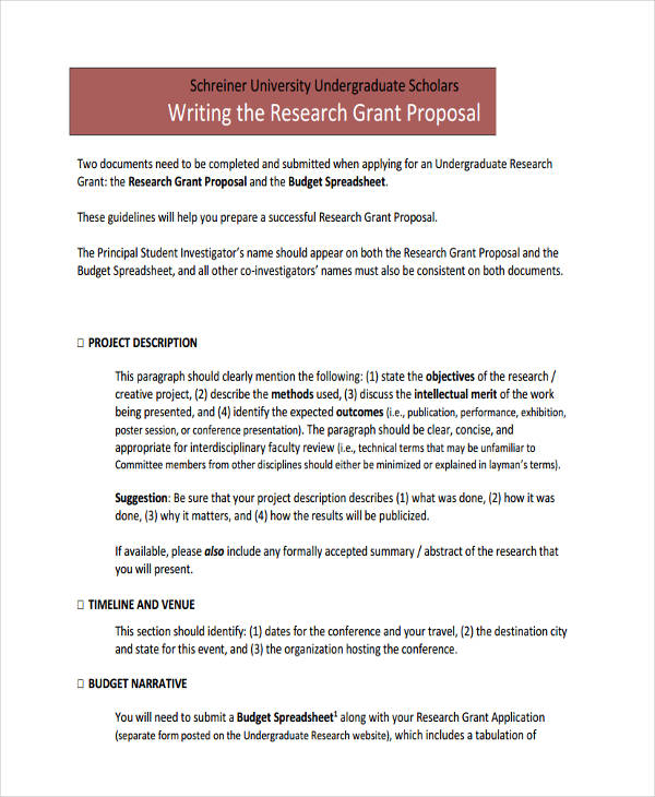 research grant proposal2 schreineredu details file format