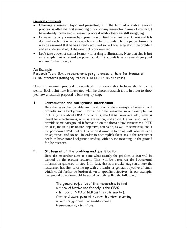 examples of a proposal essay proposal sample in pdf service proposal ...