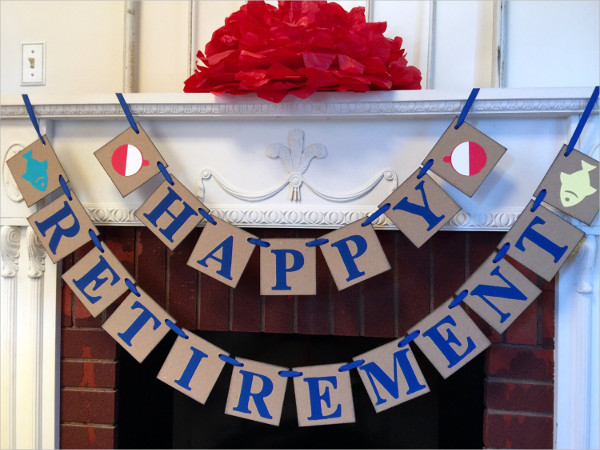 Retirement Party Banner