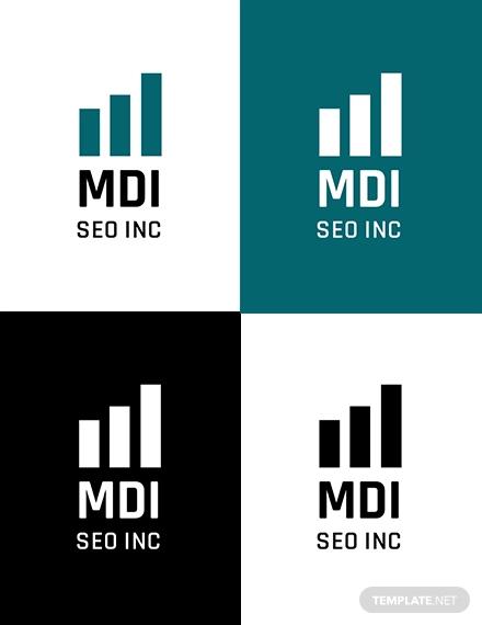 seo logo template