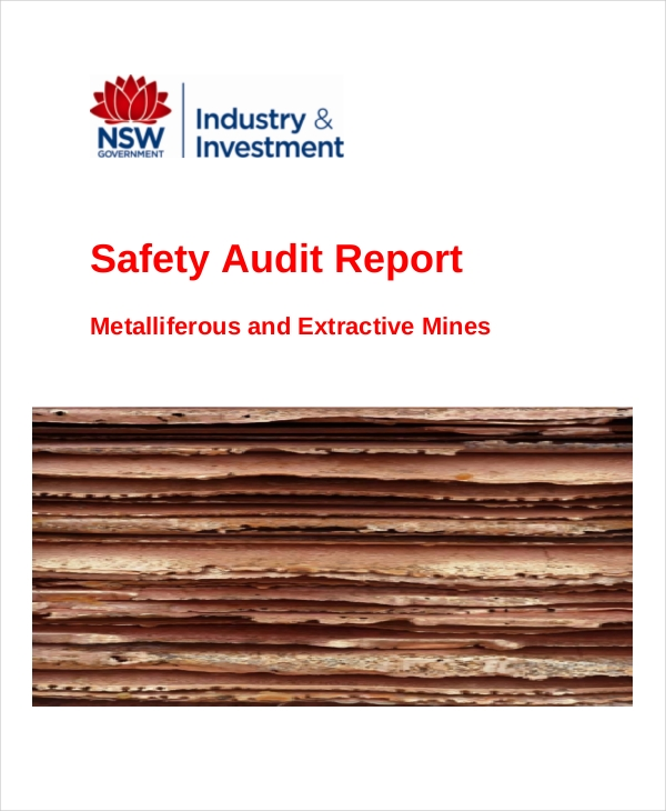 safety audit sample report1