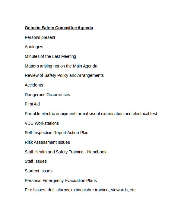 safety committee2