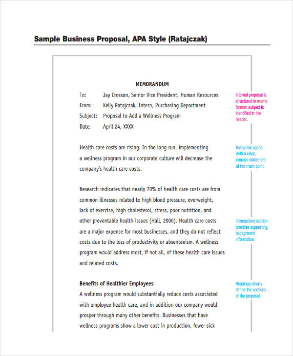 65 examples of free proposals sample business proposal accmission Gallery
