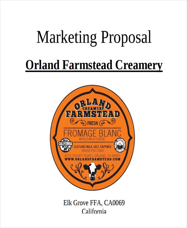 sample marketing proposal5