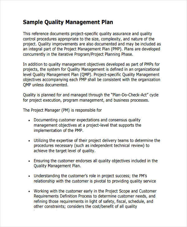 quality assurance plan template unique quality assurance plan