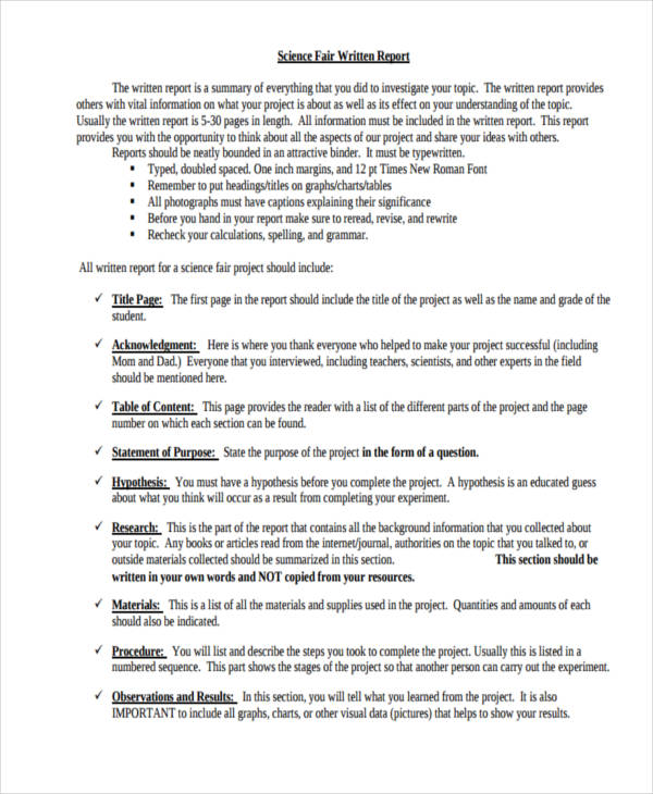 order of science fair research paper Order of science fair research paper resources for k-16 teachers about what science is and how it works science education-related.