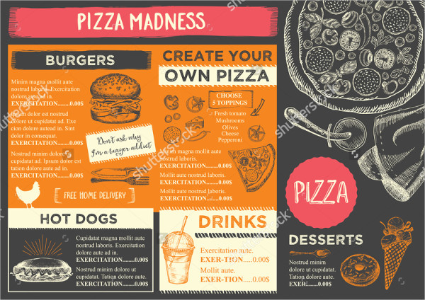 35 examples of menu design psd ai vector eps