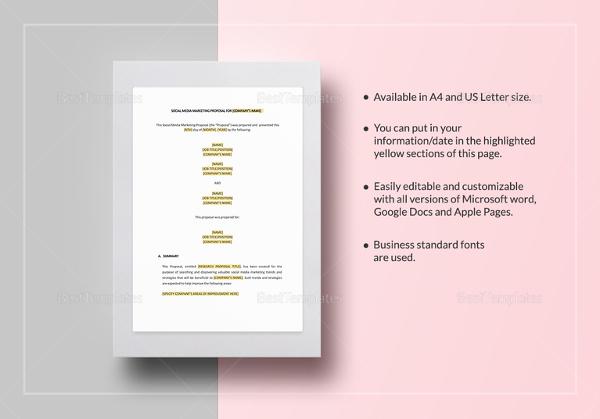 social media marketing proposal template1
