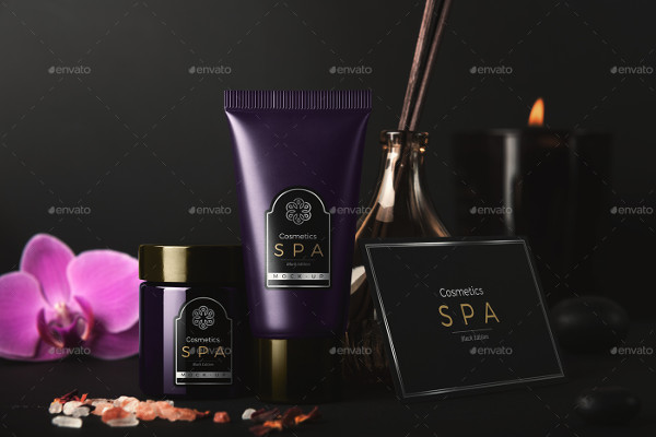 Spa Product Packaging Design