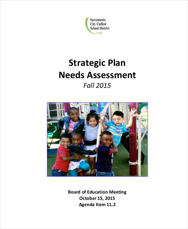 strategic planning assessment