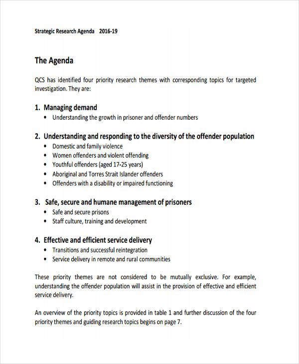 strategic research agenda1
