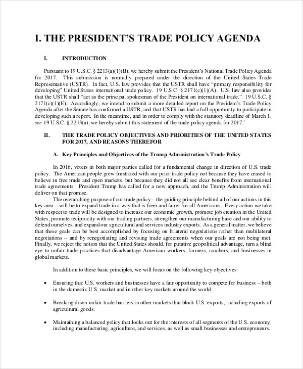 trade policy1