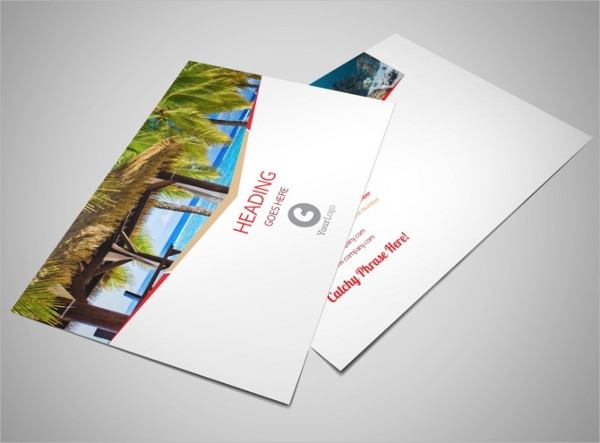 travel agency postcard