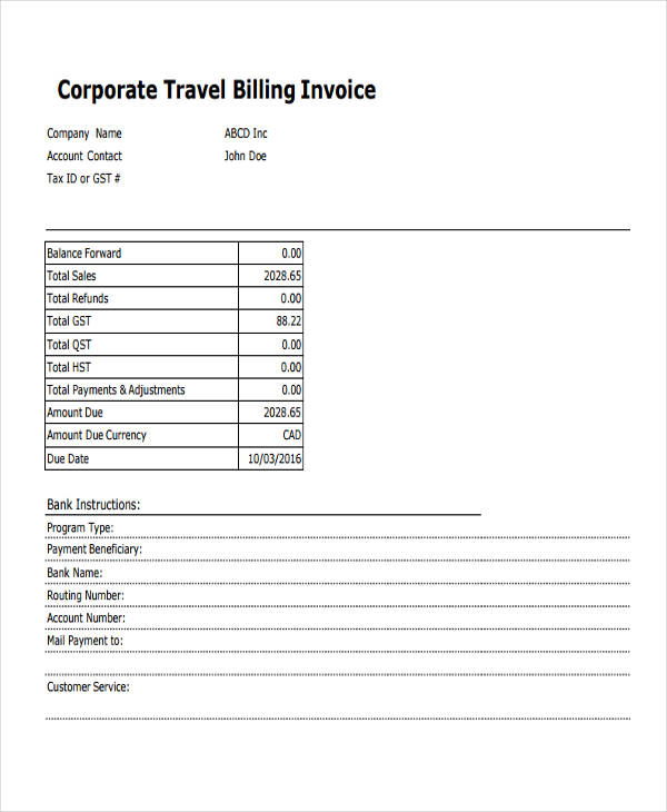travel billing1