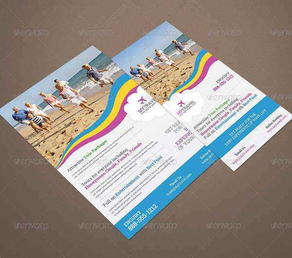 20 examples of rack card designs psd ai vector eps travel business rack card colourmoves