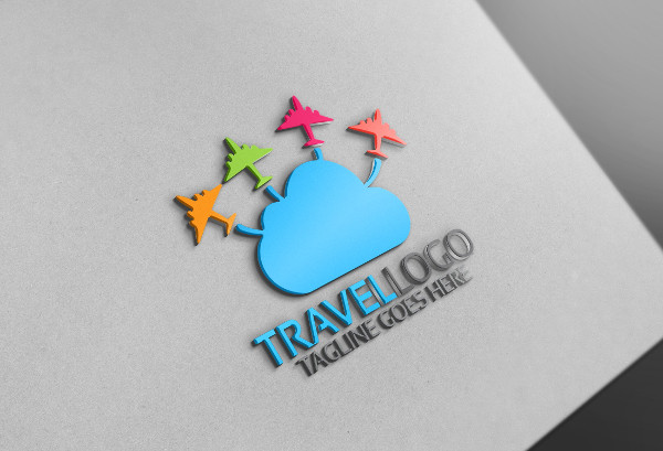 -Travel Company Logo Design
