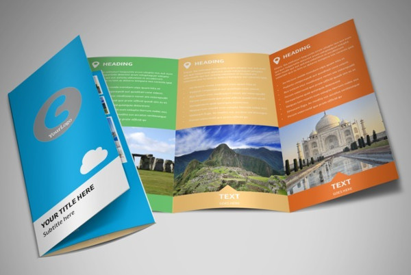 travel package brochure