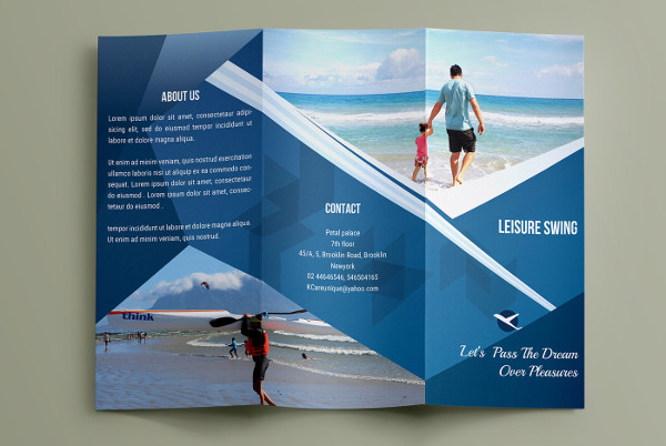 astray travel co brochure design on behance