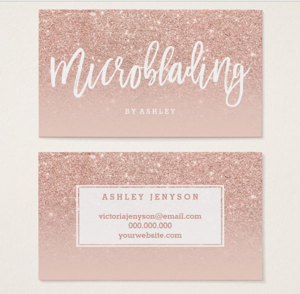 Typography Name Card