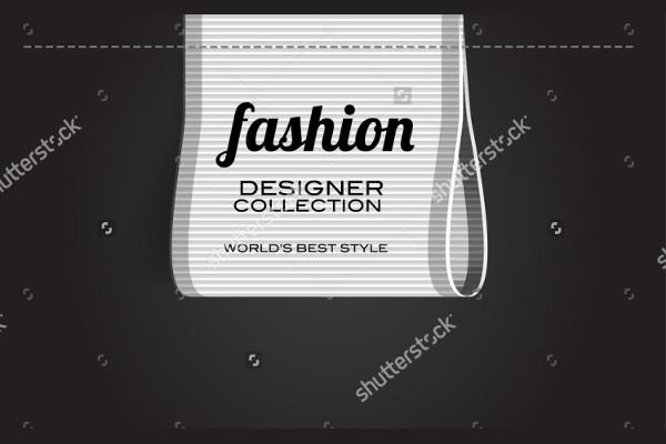 -Vector Fashion Label Design
