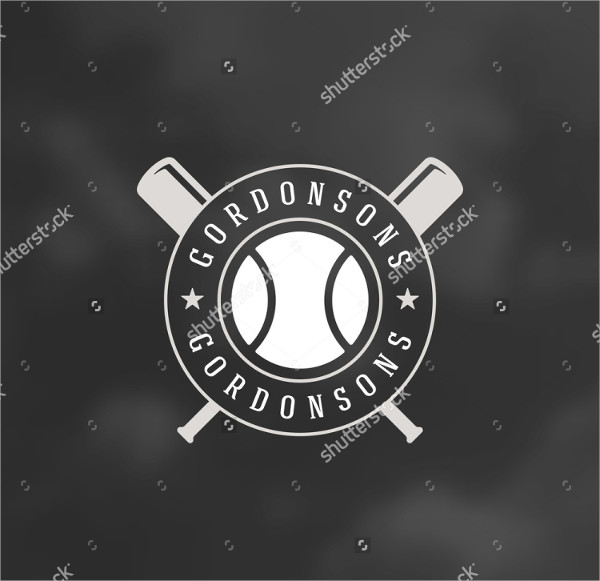 vintage baseball logo